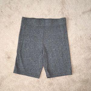Cotton biker shorts